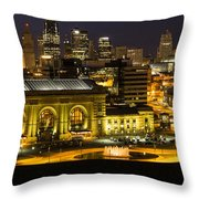 Union Station Kansas City Throw Pillow