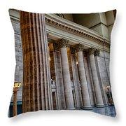 Union Station Chicago Throw Pillow
