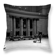 Union Station Chicago The Great Hall Throw Pillow