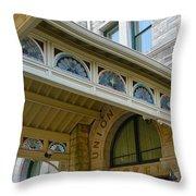 Union Station Hotel Throw Pillow