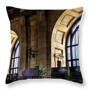 Union Station Throw Pillow