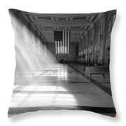 Union Station - Kansas City Throw Pillow