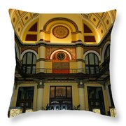 Union Station Lobby-large Size Throw Pillow