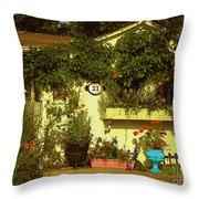 Unionville Summer Home Circa 1880 Throw Pillow