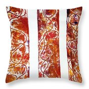 Unique Abstract Throw Pillow
