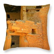 Unique Dwellings Throw Pillow