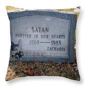 Unique Epitaph Throw Pillow