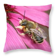The Color Of Honey Throw Pillow