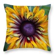 Unique Sunflower Throw Pillow