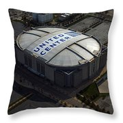 United Center Chicago Sports 09 Throw Pillow