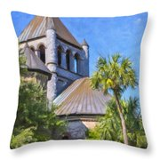 United Church Of Christ Throw Pillow