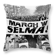 United For Justice Throw Pillow