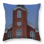 United Methodist Church Lowville Ny Throw Pillow