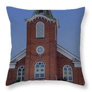 United Methodist Church Lowville Ny Throw Pillow
