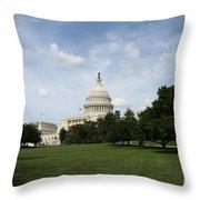 United State Capitol  Washington Dc Throw Pillow
