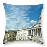 United States Capitol Throw Pillow