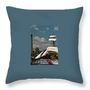 United States Coast Guard Cutter Throw Pillow