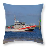 United States Coast Guard Throw Pillow