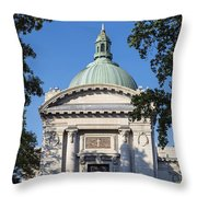 United States Naval Academy Chapel Throw Pillow