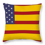 United States Of Iberia Throw Pillow