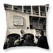 United States Penitentiary Throw Pillow