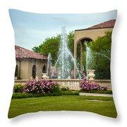 Unity Village Rose Garden Throw Pillow