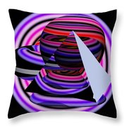 Univers Colors And Shapes Throw Pillow