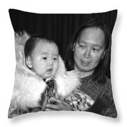 Universal Look Of Love  Throw Pillow