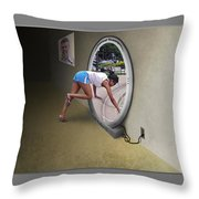 Universal Portal Throw Pillow