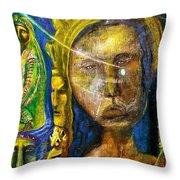 Universal Totem Throw Pillow