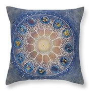 Universal Tree Of Life Throw Pillow