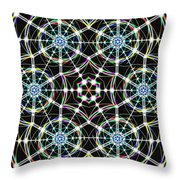 Universal Web Matrix Throw Pillow