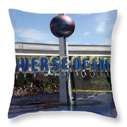 Universe Of Energy Throw Pillow