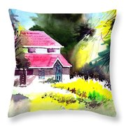 University 2 Throw Pillow
