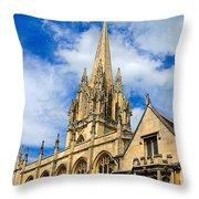 University Church Of St Mary The Virgin Throw Pillow