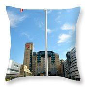 University Hospital Throw Pillow