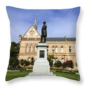 University Of Adelaide Throw Pillow