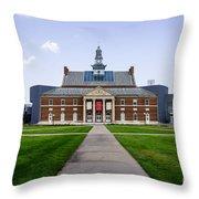University Of Cincinnati Tangeman University Center  Throw Pillow