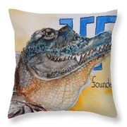 University Of Florida Throw Pillow