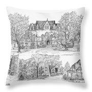 University Of Pennsylvania Throw Pillow