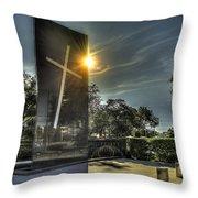University Of St. Thomas Throw Pillow