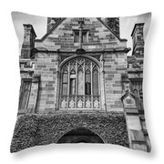 University Of Sydney-black And White V4 Throw Pillow