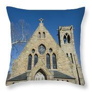 University Of Virginia Chapel Throw Pillow