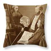 Unknown Artists Throw Pillow