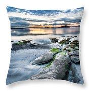 Unknown Beach Throw Pillow