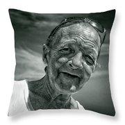 Unknown Duotone Throw Pillow