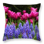 Unknown Flowers Throw Pillow
