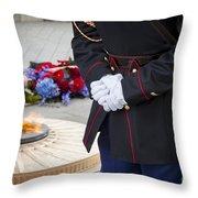 Unknown Hero Throw Pillow