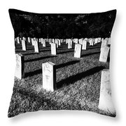 Unknown Soldier Cemetery Throw Pillow