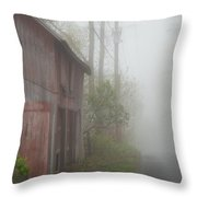 Unknown Where The Road Will Take You Throw Pillow